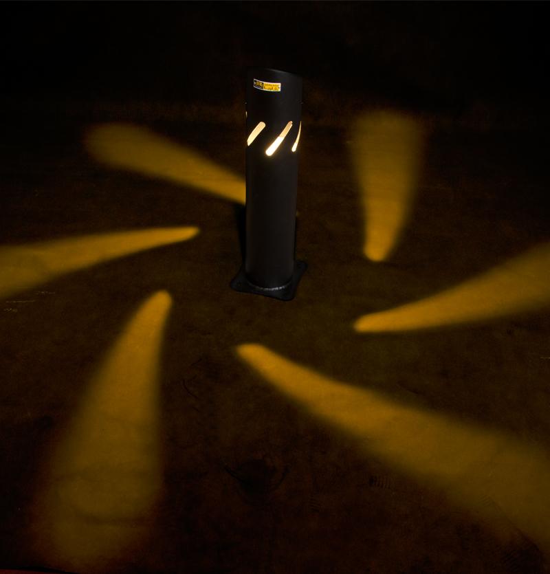 پایه چراغ چمنی گلبرگ